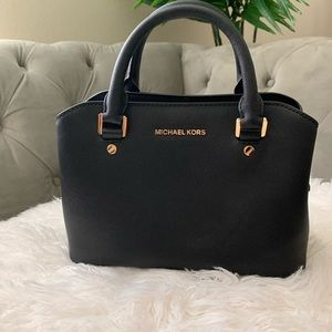 Michael Kors Savannah small satchel